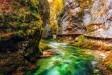 Vintgar canyon